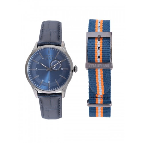b082ac223d6 Buy Cerruti 1881 Men Blue Analogue Watch CRA124SU03BL online ...