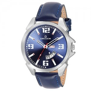 Decode Blue Monster Day and Date Analog Watch - For Men/Boys