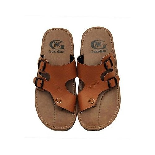 65955be3609d27 Buy Guardian Sandal in Brown Color Suede Leather Mens Thong Slippers ...