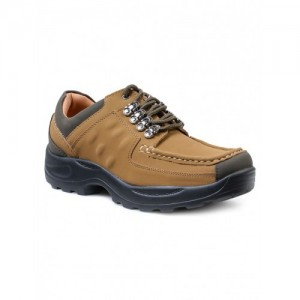 DOTCOM By Action Shoes tan nubuck leather casual shoes