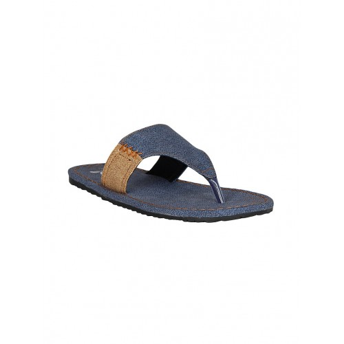 Kraasa Men's Blue Slippers