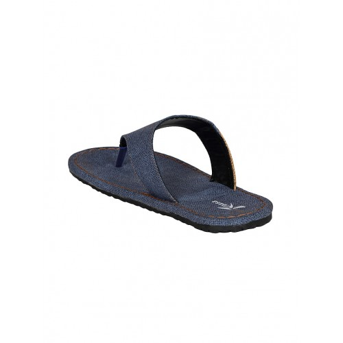 Kraasa Men's Blue Slippers