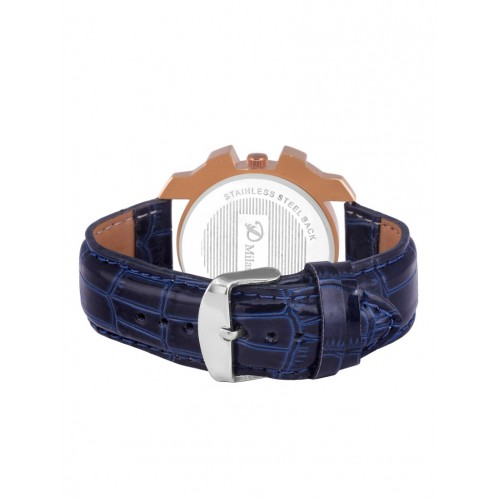 D'Milano Men Copper Sapphire Casual Analog Watch