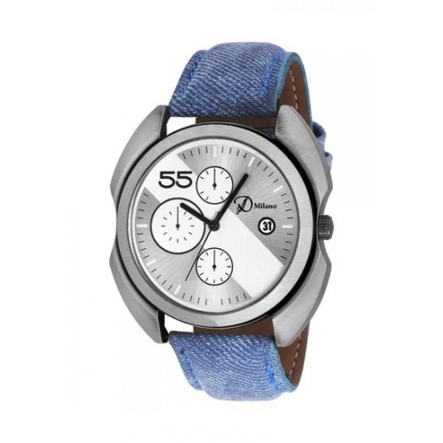 D'Milano Men Grey Sapphire Casual Analog Watch