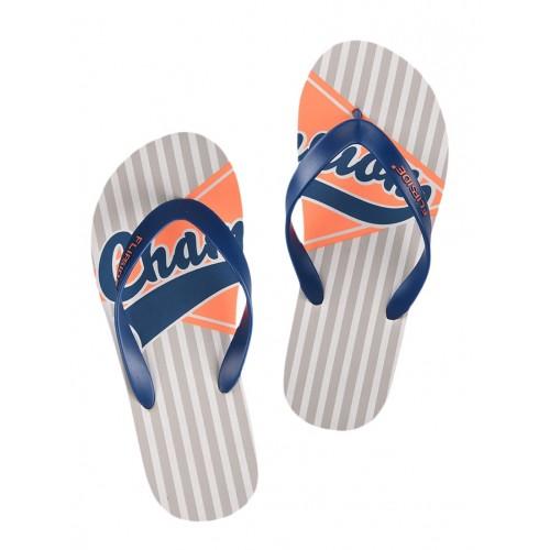 Flipside grey rubber toe separator flip flops