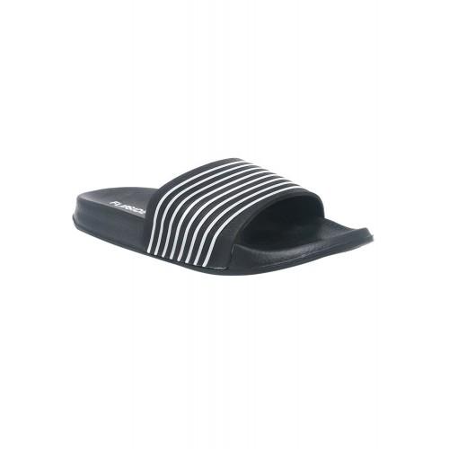 Flipside black Rubber slip on flip flop