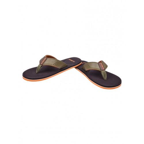 Flipside brown eva flip flops