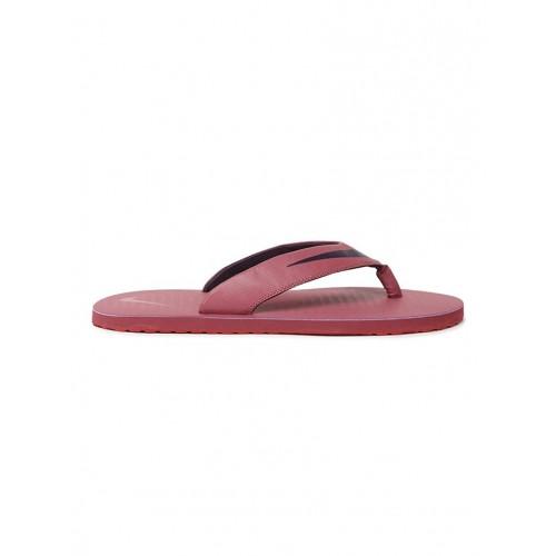 1b6b4c23f128 Buy NIKE red synthetic   mesh toe separator flip flops online ...