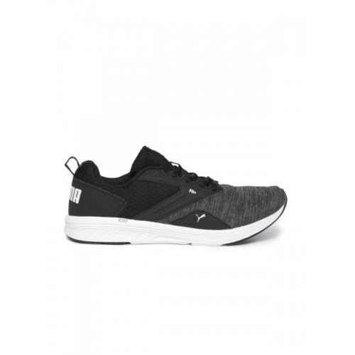 171b5944983 Buy Puma Unisex Black NRGY Comet Running Shoes online