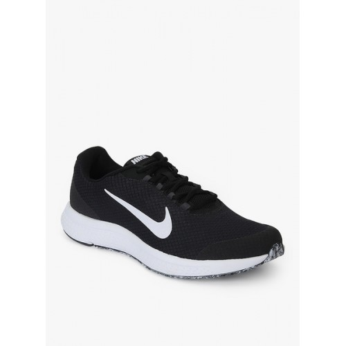 Nike Men Black Run All Day Running Shoe