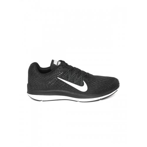 ee32e269 Buy Nike Men Black Zoom Winflo 5 Running Shoes online | Looksgud.in