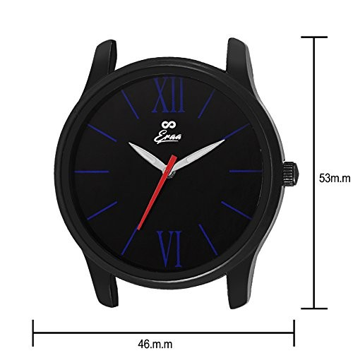 Eraa Beige & Black analog wrist watch for men