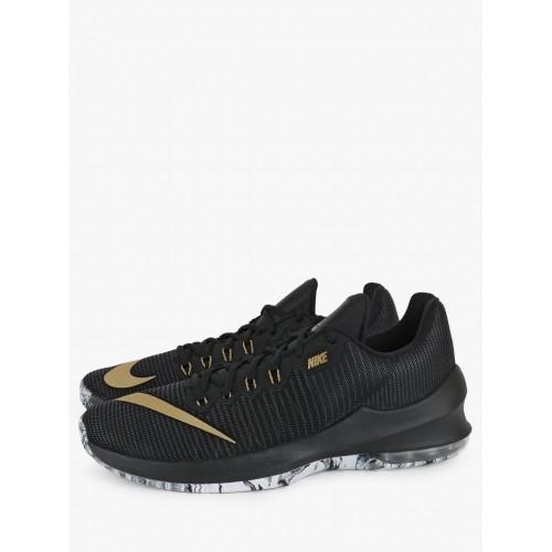 new product 2b644 3e20b Nike Air Max Infuriate 2 Low Black Basketball Shoes ...