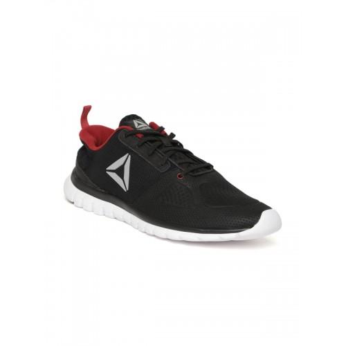 b2b2349fbe3b10 Buy Reebok Men Black Sublite Aim Plus Running Shoes online