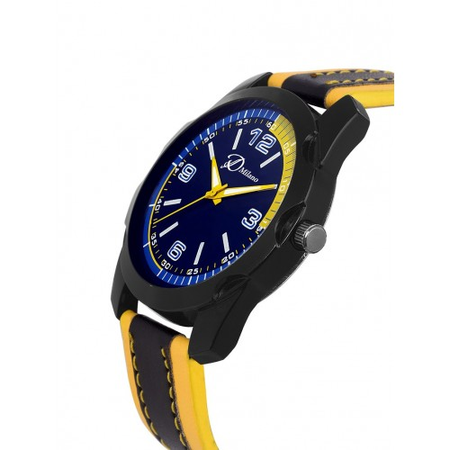 D'Milano Men Sunny Sapphire Casual Analog Watch