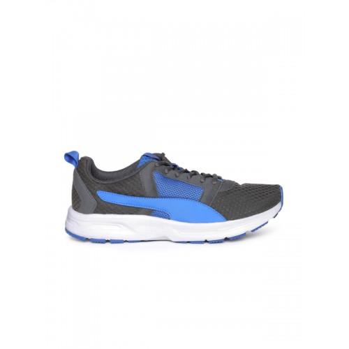 online retailer 350af fd8cf ... Puma Men Grey   Blue Deng IDP Running Shoes ...