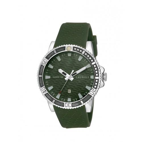 Laurels Green Dial Cobalt Date Men's Watch (Lo-Clt-040407)