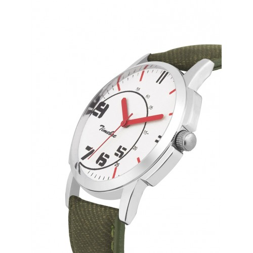 TIMEBRE Timebre Men Cherry Ivory Casual Analog Watch