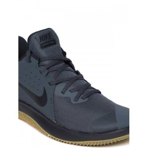 e95166c7d15 Buy Nike Men Navy Blue Fly.By Low Leather Basketball Shoes online ...