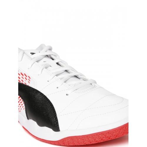 e1c2c34e8f27 Buy Puma Men White Veloz Indoor NG Badminton Shoes online