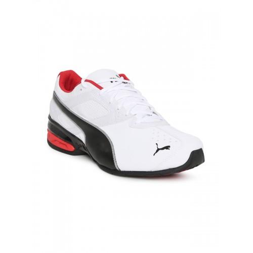 317bf97dc5f Buy Puma Men White Tazon 6 FM Sports Running Shoes online