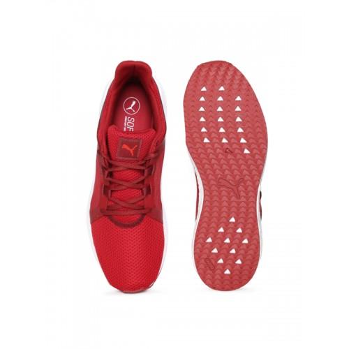 82b30f16125ae3 Buy Puma Men Red Mega NRGY Turbo 2 Running Shoes online