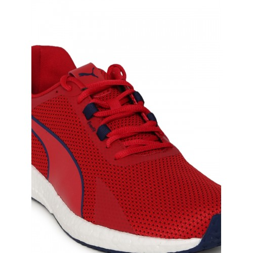 b5909a9652a0a3 Buy Puma Men Red Mega NRGY Turbo Running Shoes online