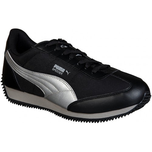 50b17dc2231ca1 Buy Puma Men s Speeder Tetron II Ind. Black Running Shoes online ...