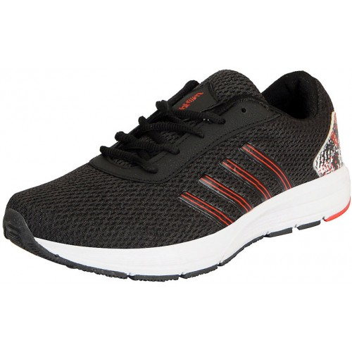 Action Men's Black Sports Running/Gym Shoes