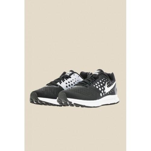 5fdd273e9010 Buy Nike Zoom Span Black   White Running Shoes online