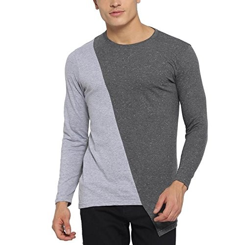 eb0c45f8c Buy Campus Sutra Men s Round Neck Full Sleeve T-shirt online ...