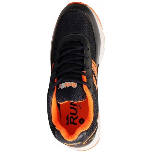 Action Navy Orange Men's Sports Running Shoes