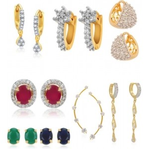 Jewels Galaxy Combo Collection Alloy Earring Set