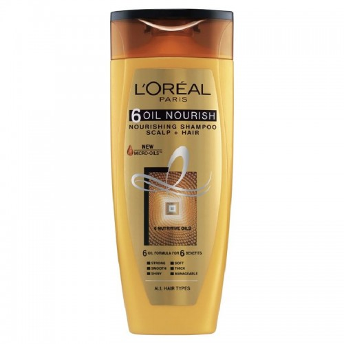 L'Oreal Paris 6 Oil Nourish Shampoo,75ml