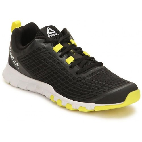 performance sportswear order new product Buy Reebok Mens Black Sport Shoes online | Looksgud.in