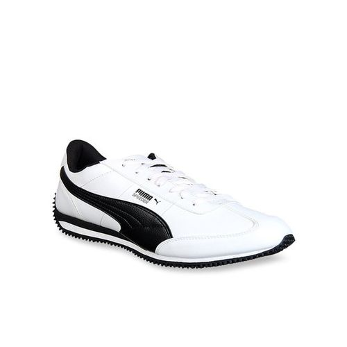 Puma Velocity IDP White & Black Running Shoes