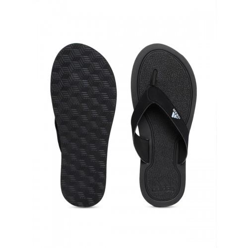 Adidas Stabile Black Flip Flops