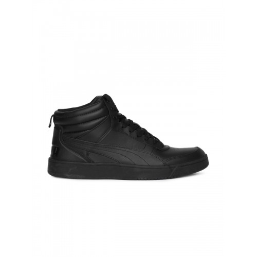 7e158ba0e511 Buy Puma Rebound Street V2 L IDP Black Ankle High Sneakers online ...