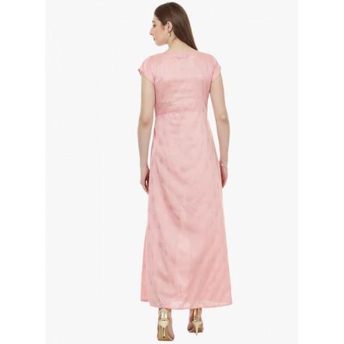 Ziyaa Pink Printed Kurta