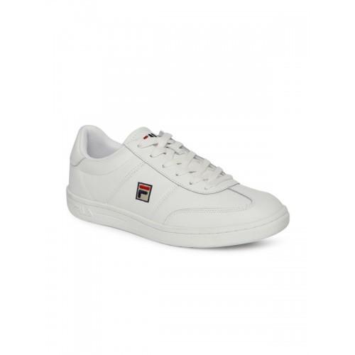 FILA Men White PORTLAND L LOW Sneakers