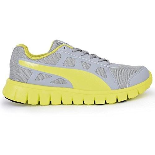 Puma Unisex Grey Synthetic Running Shoes