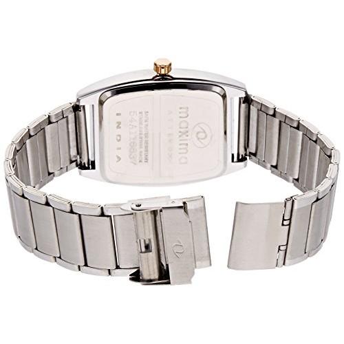 Maxima Attivo Analog White Dial Men's Watch - 35363CAGI