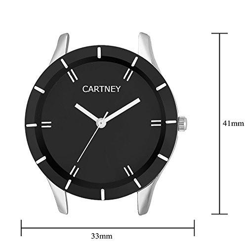 Cartney Analogue Metal Strap black Round Dial Women & Girl's Watch - N5734
