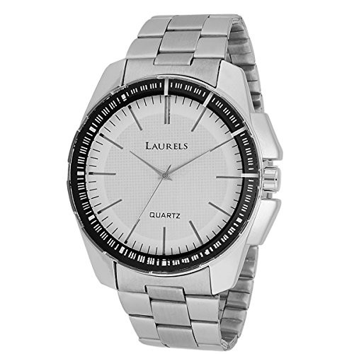 Laurels August Analog White Dial Men's Watch - Lo-AGST-0107