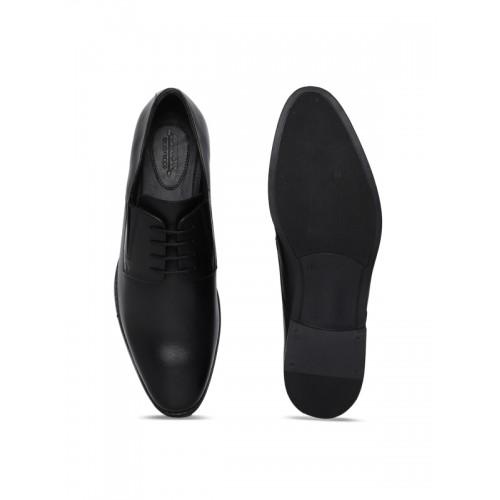 Arrow Men Black Leather Hayem Derbys