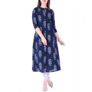STYLUM blue cotton aline kurta