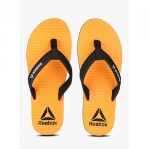 Reebok Matrix Orange Flip Flops