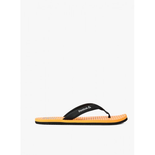 Reebok Matrix Orange Flip Flops