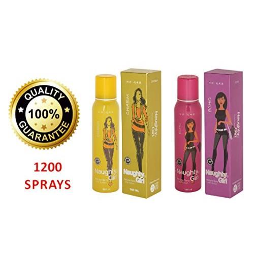 91e4466fc3 ... Naughty Girl CHARM, ECHO Perfume For Women (Long Lasting & No Gas) Pack  ...