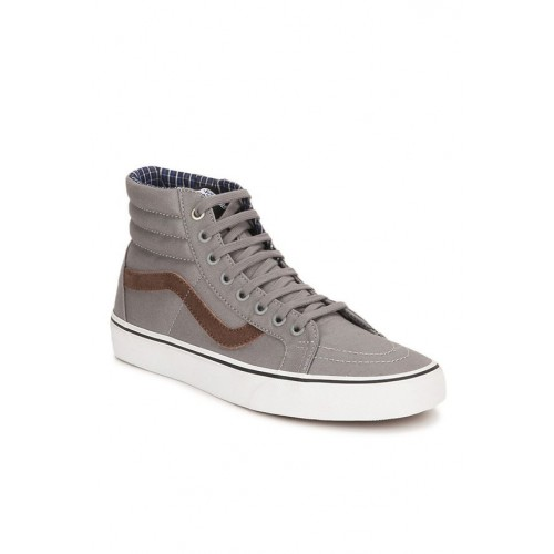 918b35c9e44d97 Buy Vans Classics Sk8-hi Reissue Frost Grey Ankle High Sneakers ...